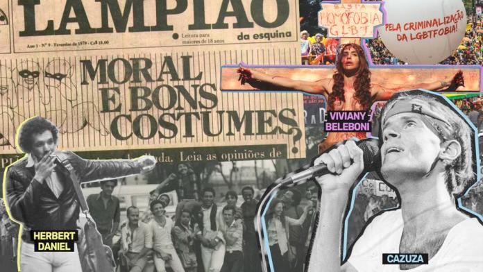 """No Instagram, projeto """"Senta e Escuta"""" conta capítulos da história da luta LGBT+ - Divulgação"""