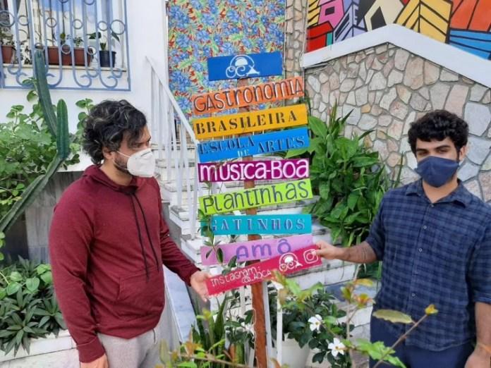 Fabrício Costa e Caio Cruz
