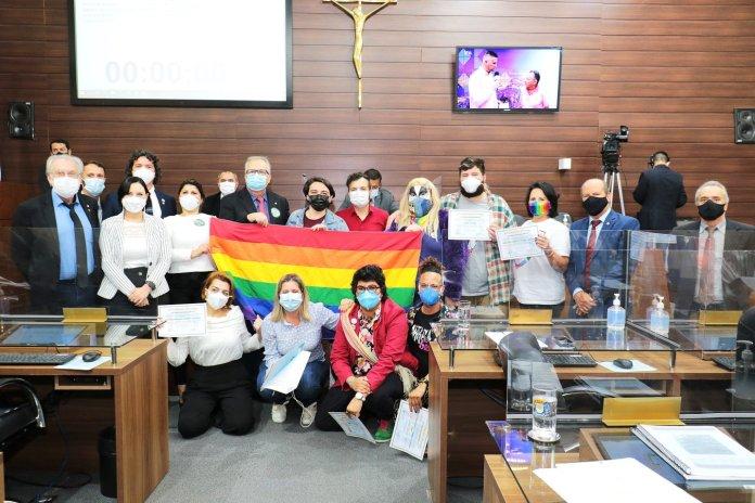 Câmara de Florianópolis recebe sessão solene à visibilidade LGBTQIA Edio Hélio/CMF