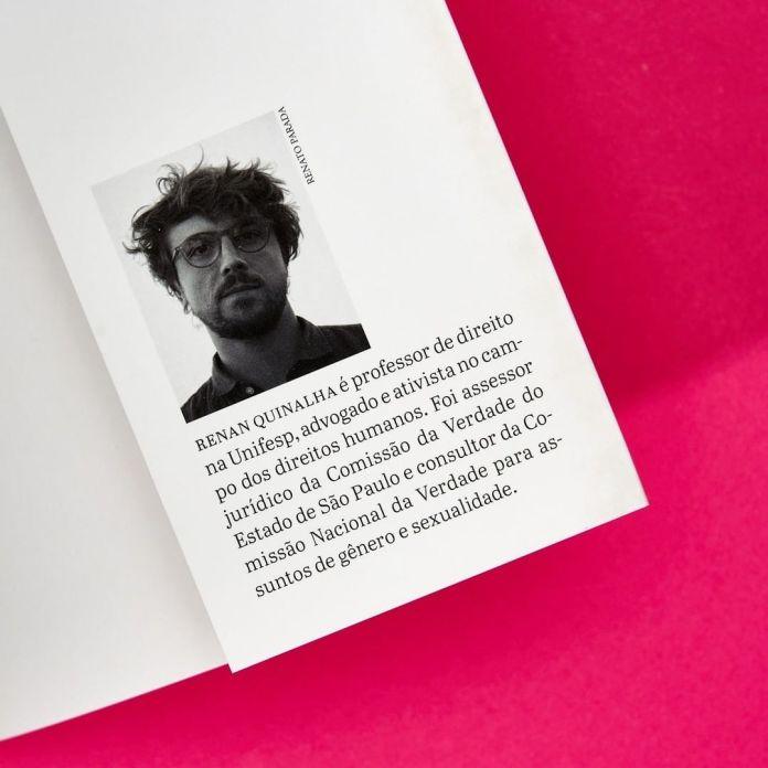 """""""Contra a moral e os bons costumes"""", de Renan Quinalha - Divulgação"""