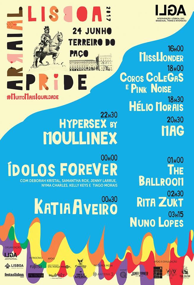 lisbon pride festival, lisboa arraial pride 2017,