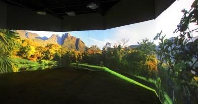 Sala de descompressão do Ekoa Park é uma criação do estúdio Bijari