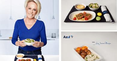 Companhia inova mais uma vez e traz as famosas receitas da apresentadora para seus voos internacionais