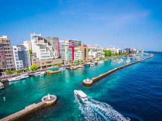 Malé, nas Ilhas Maldivas   ásia
