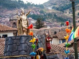 peru Inti Raimy, Festa do Sol na Plaza de Armas, em Cusco. Foto: Heinz Plenge Pardo/PROMPERÚ