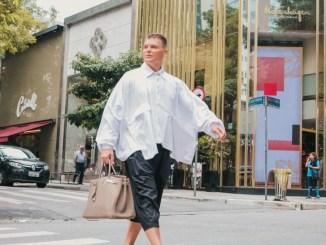 """Amo flutuar entre o mundo masculino e feminino"", conta fashionista"