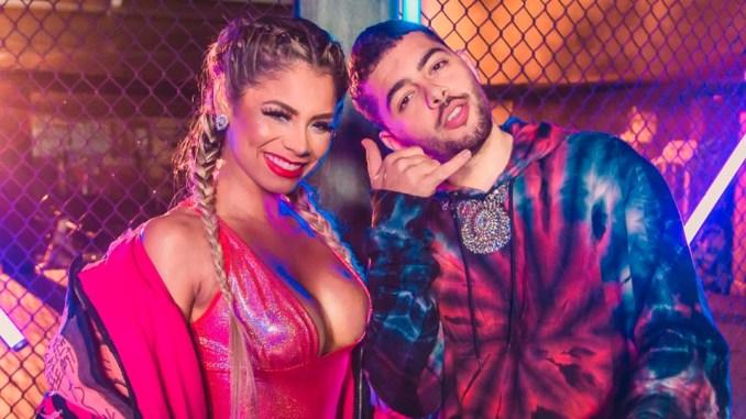 Vídeo traz imagens exclusivas da cantora com Pedro Sampaio