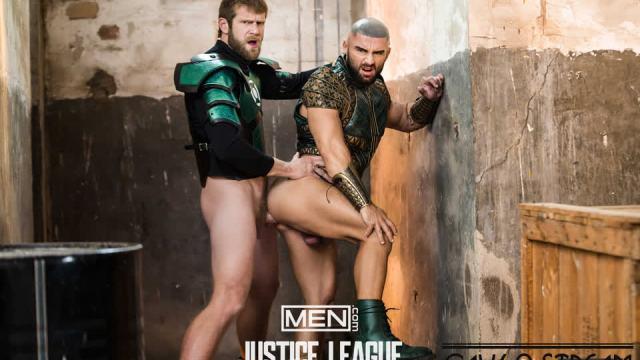 [SuperGayHero.com / Men.com] Justice League : A Gay XXX Parody Part 2 (Colby Keller, Francois Sagat)