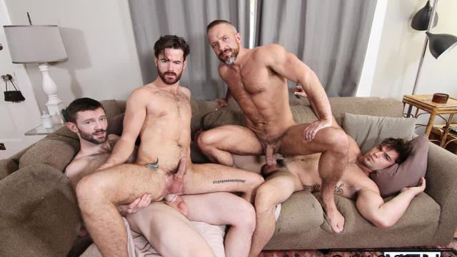 [JizzOrgy.com / Men.com] The In-Laws Part 3 (Aspen, Brendan Patrick, Dennis West, Dirk Caber)