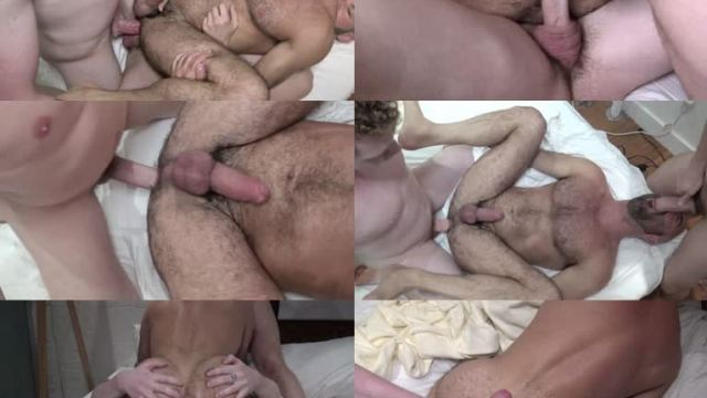 [Raw Fuck Club] Spit Roasted Daddy – Asher Devin, Adam Russo and Carter Hudson
