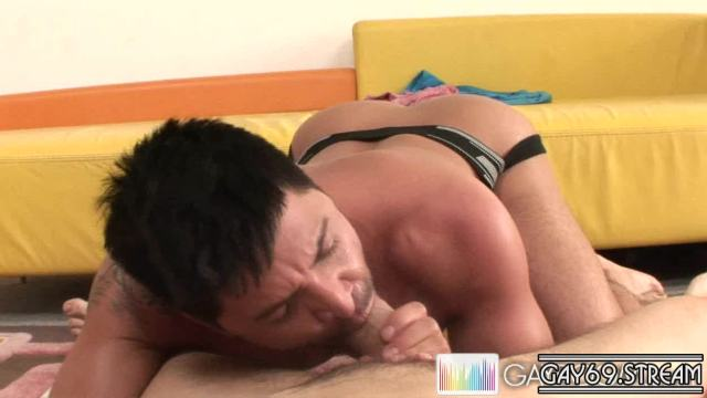 [DamnThatsBig.com / GayRoom.com] Latina Lover Drools Over Giant Cock