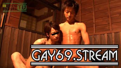【HD】【MR-KR354】超ジャニカワノンケとキレイ系男子甚平姿でエロエロ温泉入浴エッチ♪
