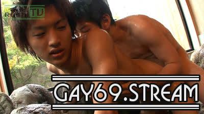 【HD】【MR-KR367】超ジャニカワノンケが温泉Hで身体の中までHOTに☆