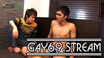 【HD】【MR-TK131】 上反りチ○ポの腹筋青年HIROKIがHIKARUのフェラテクにうっとり。。。