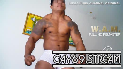 【HD】【WAM-001】FULL HD REMASTER 野生児ゴリマッチョ!!!