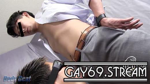 【HD】【BEAT-0002】仕事終わりの若リーマンが筋肉質ゴーグルマンに大量顔射!!