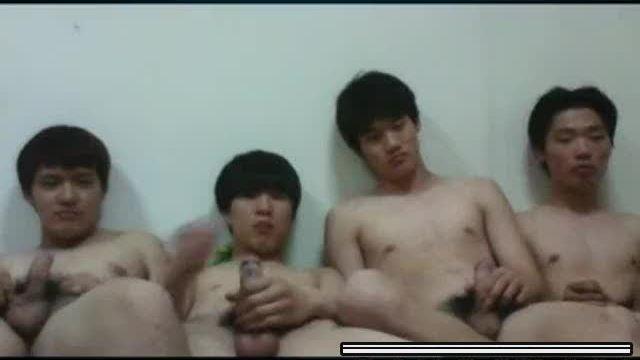 【Korean】 Friends Jerk-Off 01_190321