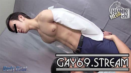 【HD】【BEAT-0016】 【Body Beat:Full HD】若いリーマンが男の顔にザーメンのマーキング