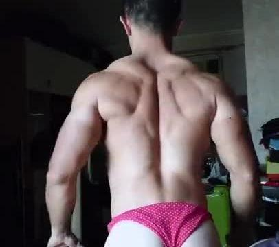 【HD】【Bodybuilder】 Flex Boner 06_190413
