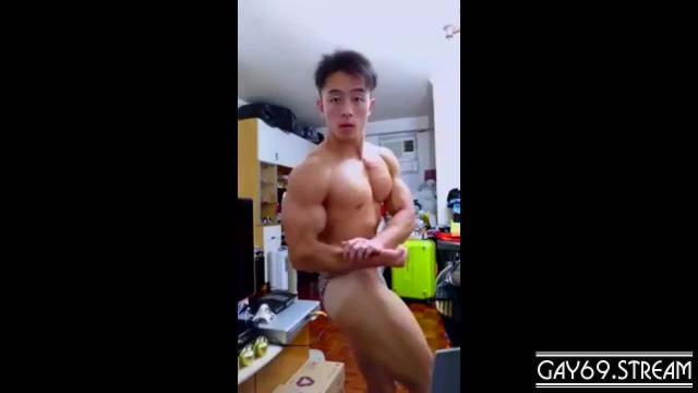 【HD】【Bodybuilder】 Flex Boner 07_190413
