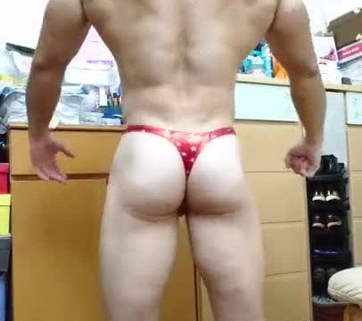 【HD】【Bodybuilder】 Flex Boner 08_190413