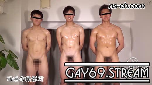 【HD】【NS-795】体育会系部員が初撮影にチャレンジ178cm80kg18歳大学生・180cm80kg18歳大学生・169cm67kg19歳