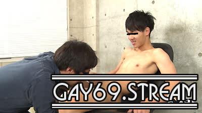 【HD】【GT-1549】 素朴カッコいい学生くんが「気持ちいい」性感責めにビンビン♂