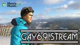 【HD】【MR-ON1088】 YUKIYAと一緒に雪山へGO!スキーの後はオナニーでドピュッ!