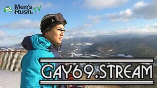 【HD】【MR-ON1088】YUKIYAと一緒に雪山へGO!スキーの後はオナニーでドピュッ!