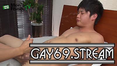 【HD】【MR-TK383】 潮噴きにセルフ顔射☆18歳プリケツボーイが汁まみれになっちゃった!