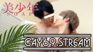 【HD】【CAPY-527】 美少年SOAP【廉】&【ひなた】ヌルヌルローションで密着LOVE・SEX!!