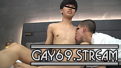 【HD】【GT-1805】 超人気!目鼻立ちクッキリな真性包茎のハンサム学生が刺青坊主に犯される♂