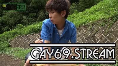 【HD】【MR-KR948】 公園のベンチで生SEX☆YUMAの若チ○コから大量のガマン汁が糸を引く♂