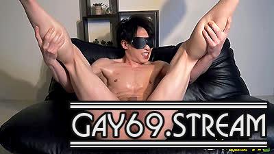 【HD】【CAPY-599】 色白美腹筋ノンケが男性初体験本気で感じまくり!寸止め射精に放心状態