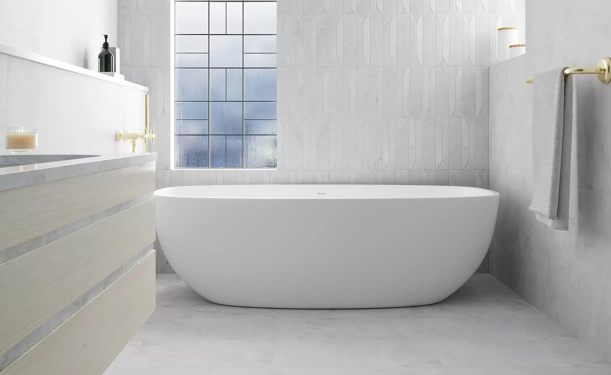 off white porcelain tiles a trend in
