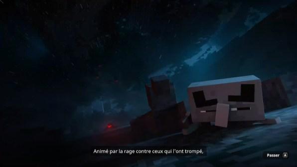 Minecraft - Cinématique