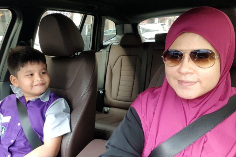 Quality time dengan anak di dalam kereta