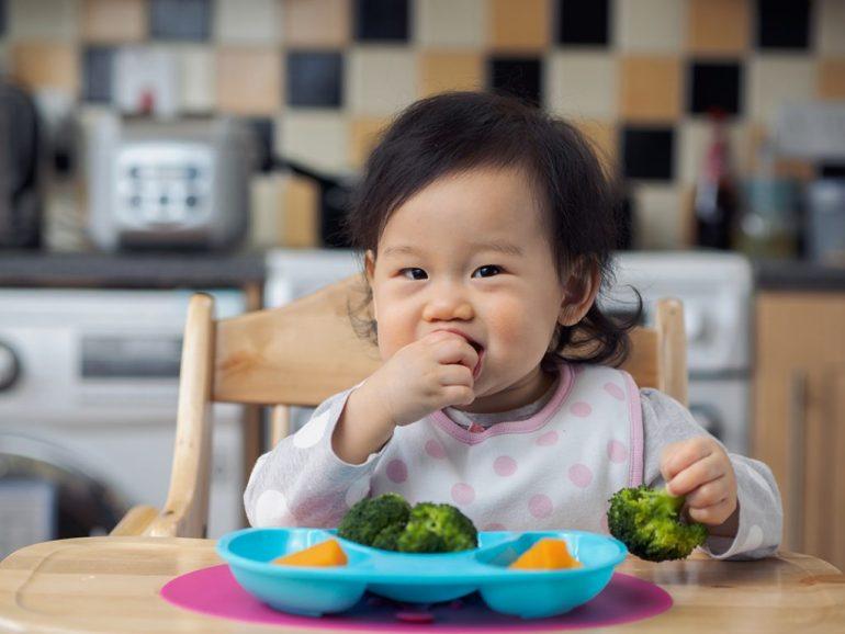 Cipta rasa ingin tahu secara santai dalam suasana menyeronokkan untuk memujuk anak makan sayur