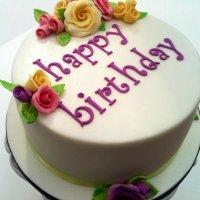 Yes – I am a birthday cake...!