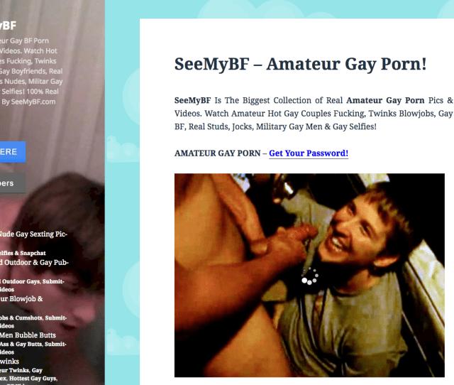 See My Bf Gay Amateur Porn Best Website