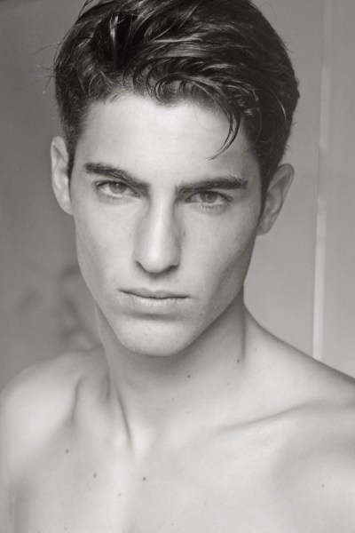 Spanish Model Antonio Navas