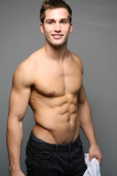 American Muscle Jock Model Kyle Tiringer