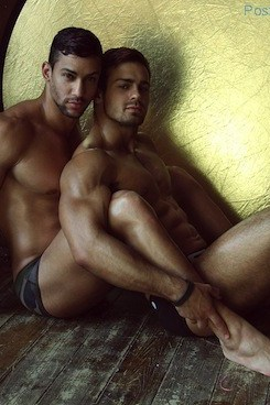 Muscle Hunks In Underwear - For ES Collection Russia (1)