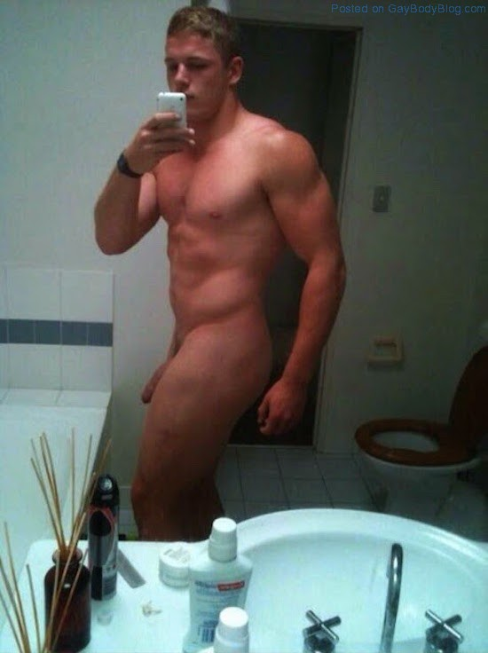 naked selfie Amateur men