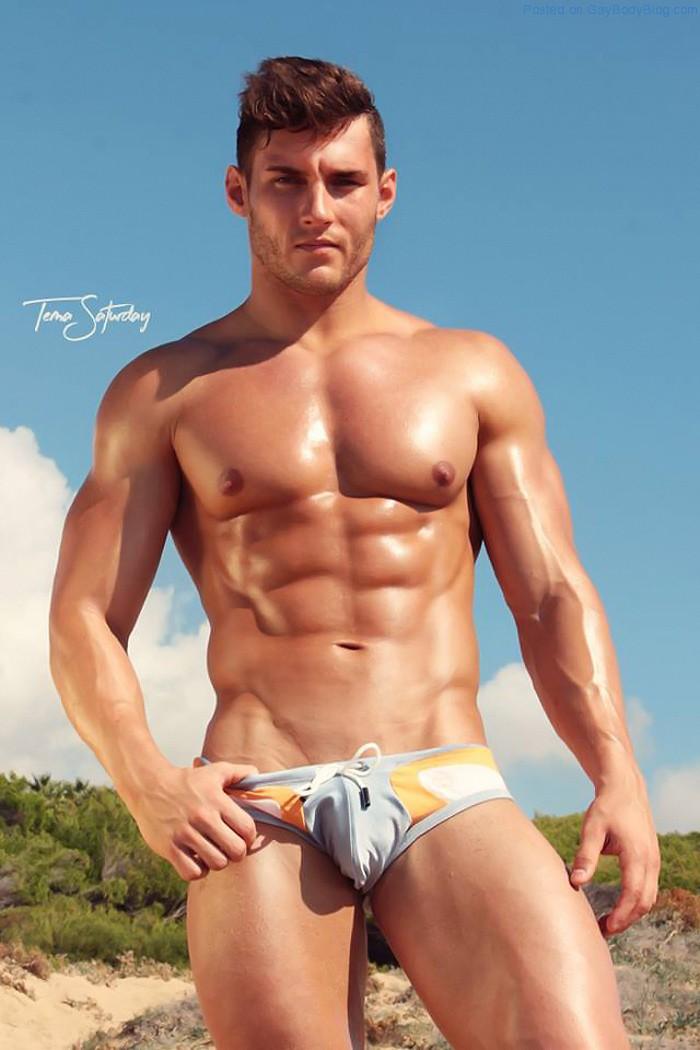 Anatoly goncharov naked male model