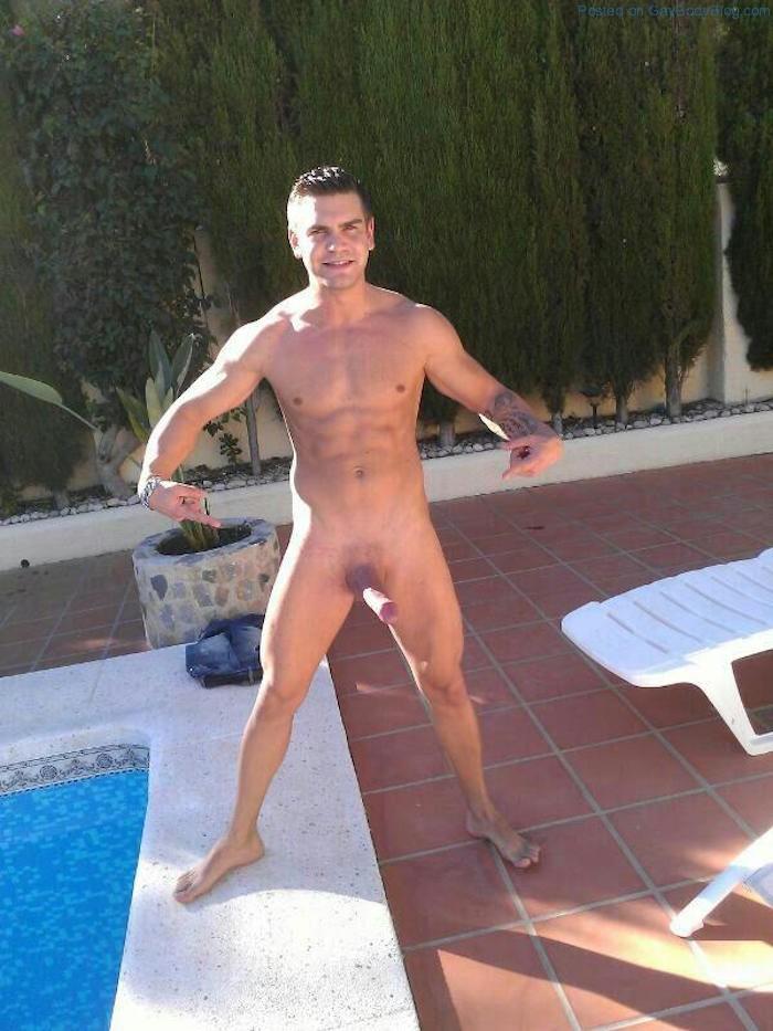 Hung straight men naked