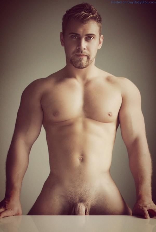 Random nude men