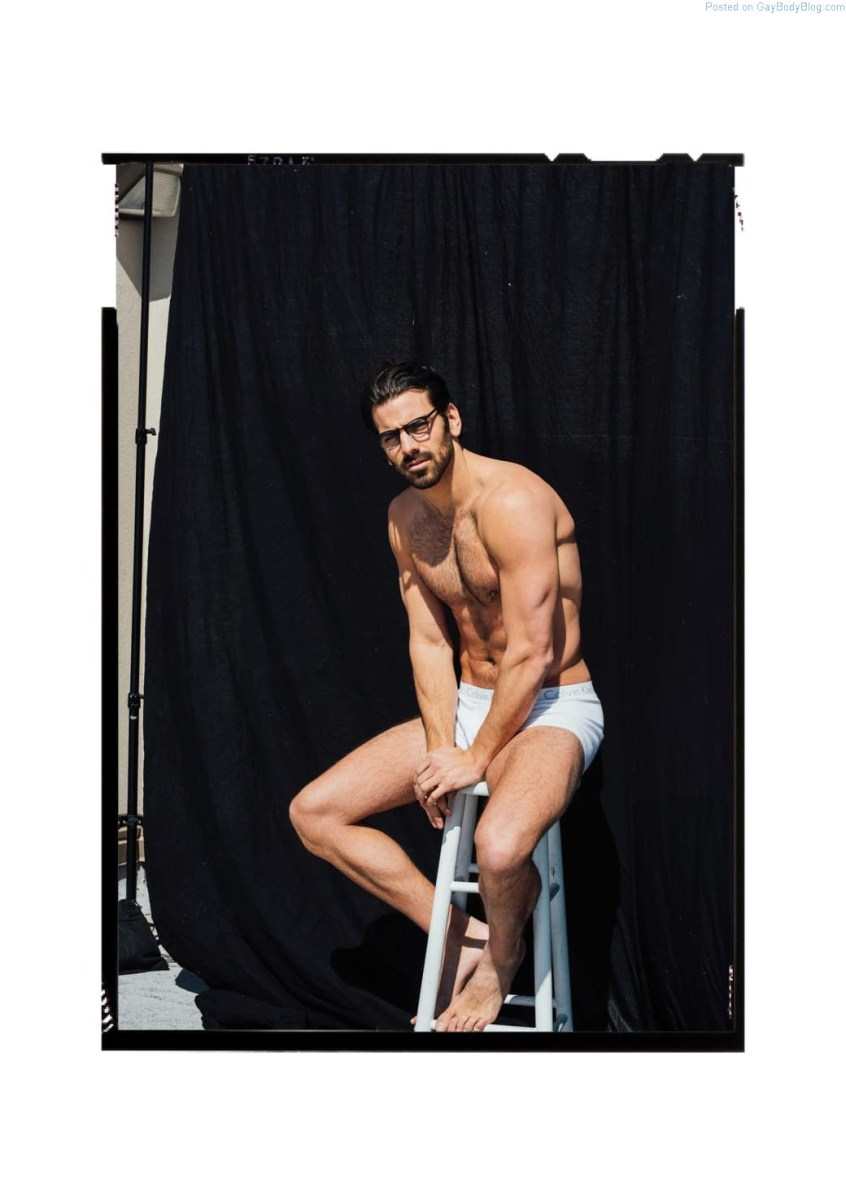 Rugged Hunk Nyle DiMarco Getting Wet