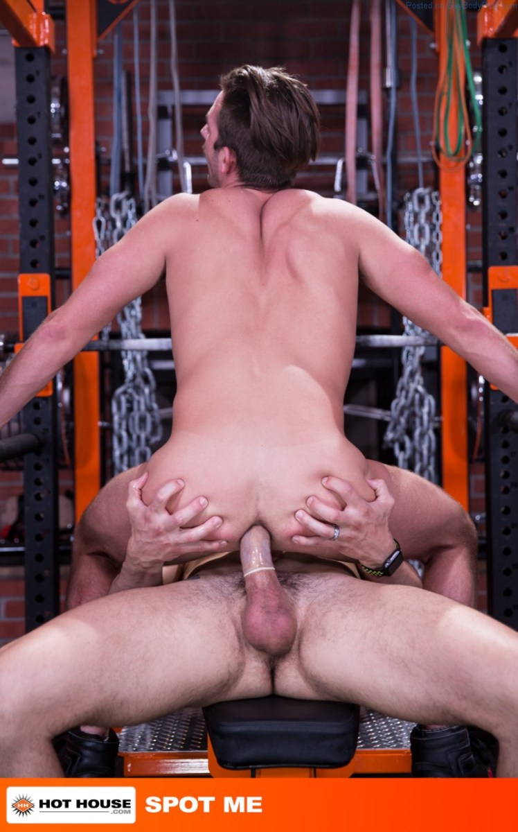 Gym Buddies Fuck - Jimmy Durano And Rex Regan