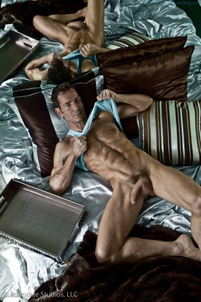Hung model Bryan Slater naked
